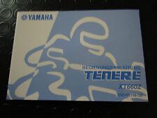 MANUALE D'USO E MANUTENZIONE ORIGINALE YAMAHA IN LINGUA TEDESCA PER XT 660 Z