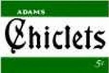 CHICLETS SIGN Small Green for FLYERVILLE MINI-CRAFT AMERICAN FLYER