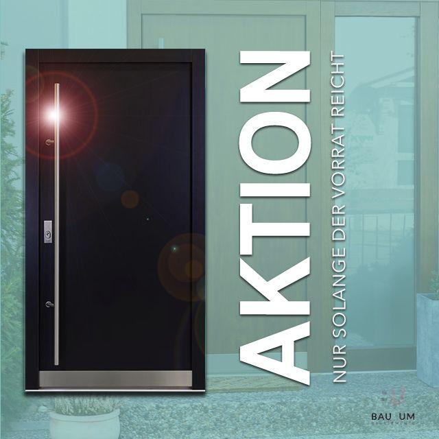 ALUMINIUM AS07 Anthrazit Haustür  Haustüren Seitenteil Briefkasten Türe