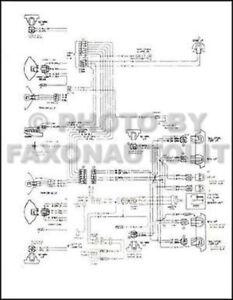 1977 chevy el camino gmc sprint wiring diagram chevrolet electrical rh ebay com