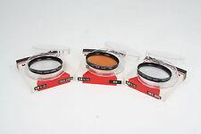 GOZO Filter Set 1x80B, 1x R60 und 1x 1A  Ø55mm OVP