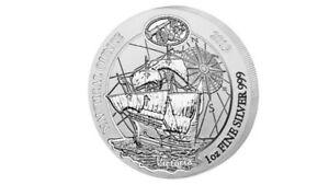 50-Francs-Nautical-Ounce-Victoria-Ruanda-Rwanda-1-oz-Silber-Silver-BU-2019