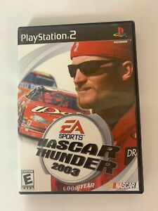 Nascar Thunder 2003 Play Station 2 Used Game A07