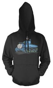 Ponctuel Thomas The Tank Engine Fat Controller Réservoir Mash Up Adulte Sweat Capuche-afficher Le Titre D'origine