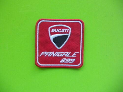 DUCATI PANIGALE 899 ROSSO PATCH RICAMATO TERMOADESIVO CM.6X6