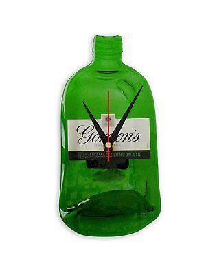 Gordons Gin  Bottle Clock An original,unique and fun bottleclock gift