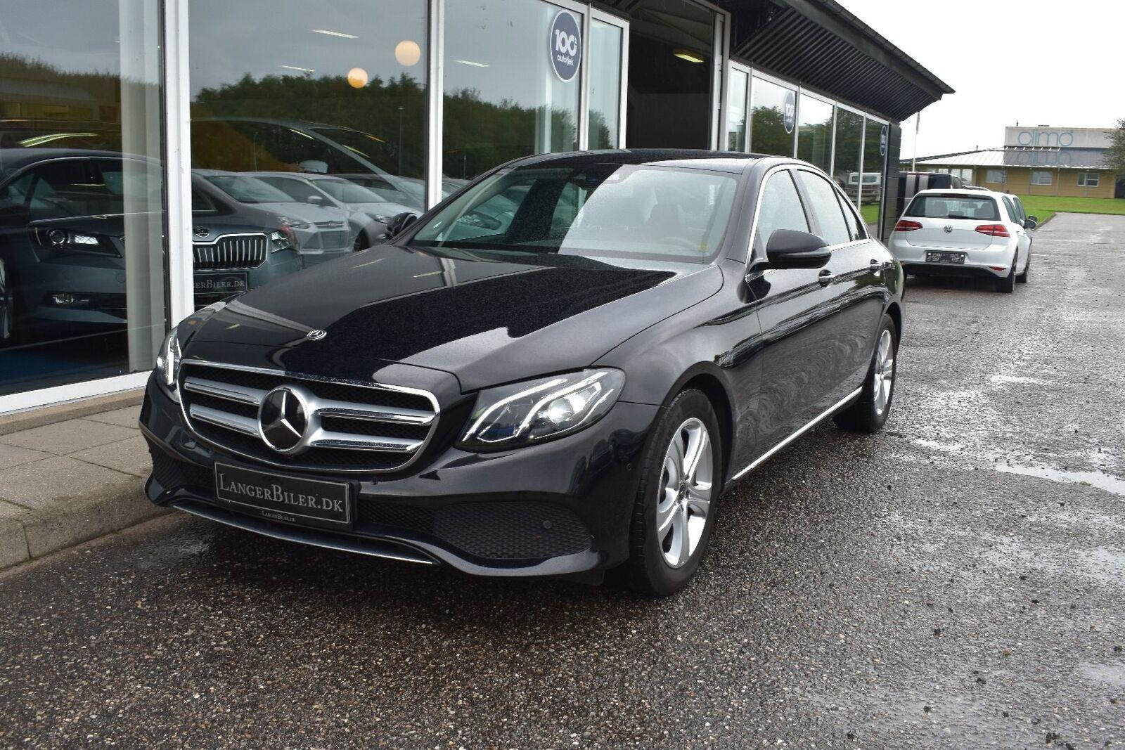 Mercedes E350 d 3,0 aut. 4d - 579.500 kr.