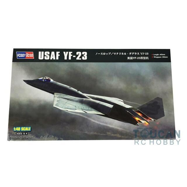 Hobby Boss 1/48 YF-23   Scale models, Model airplanes