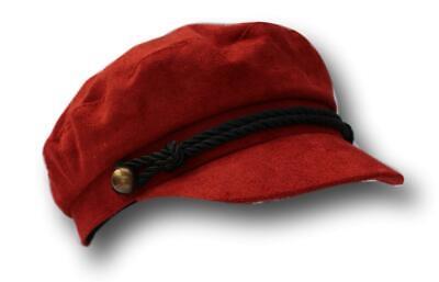 Borgogna Cappello Da Strillone Capitani Breton Stile Cappello 60cm- Adottare La Tecnologia Avanzata