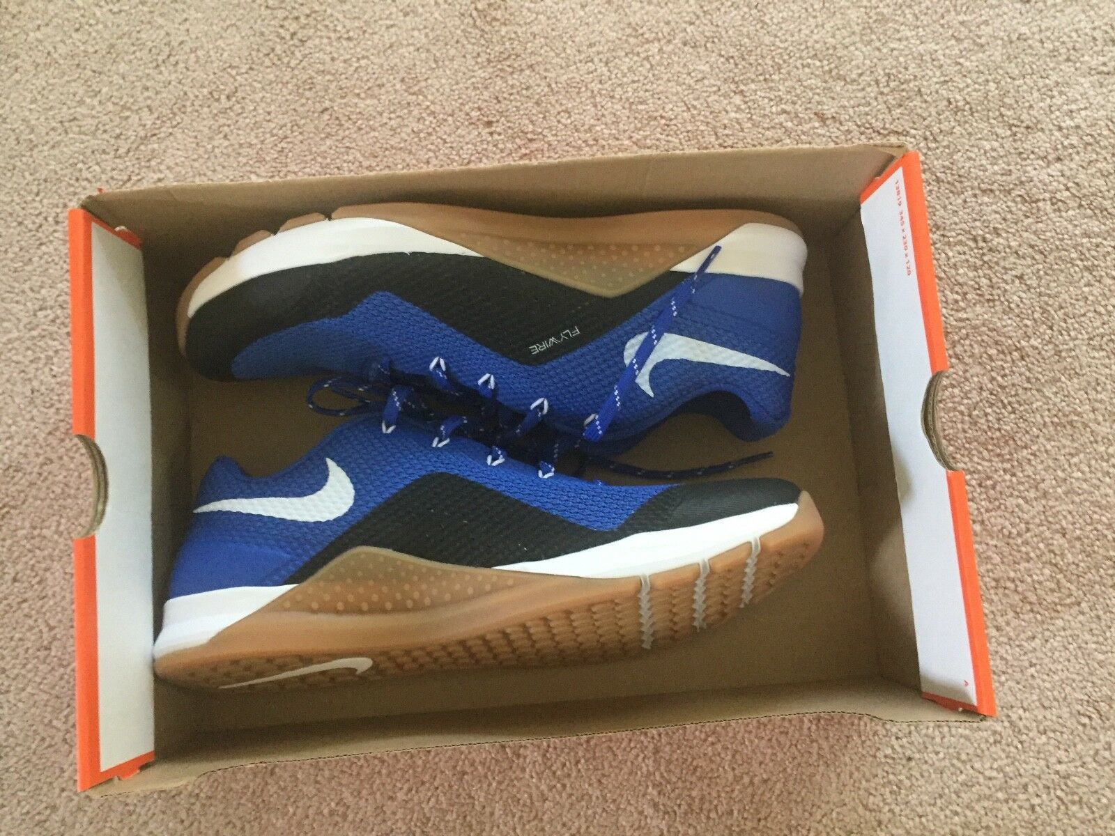 New Nike Metcon Duke bluee Devisl Repper DSX DSX DSX Size 11 Royal bluee White 921215-400 e43029