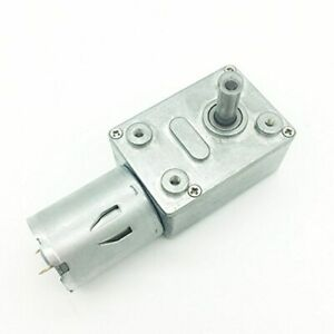 Details about Bringsmart JGY-370 12V 10rpm DC Worm Gear Motor 12 Volt High  Torque Engine Mini