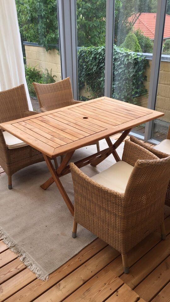 Flot Havebord, Jutlandia teak træs bord – dba.dk – Køb og Salg af Nyt RL-91