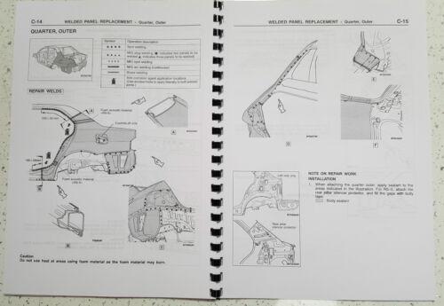 ristampa Pettine vincolato MITSUBISHI LANCER EVO VII Corpo Riparazione Manuale