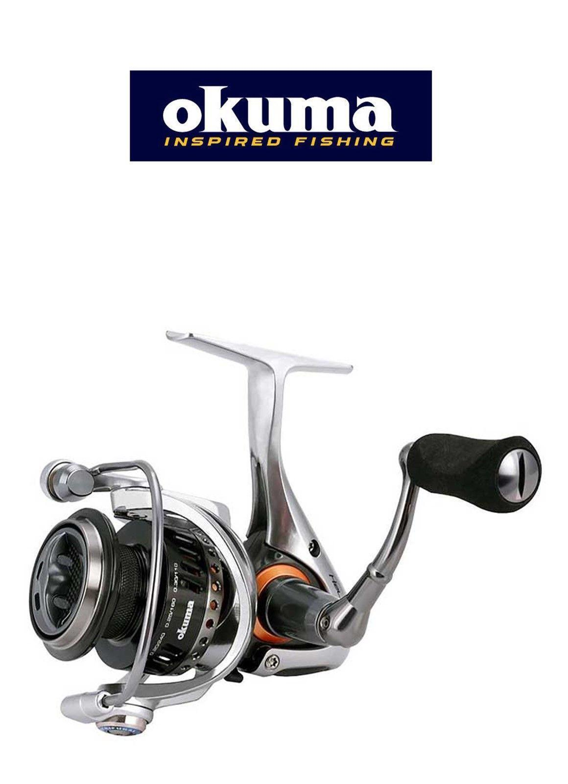 Okuma Helios SX Front Drag Spinning Reel4 ModelsPike Perch Coarse Game Match