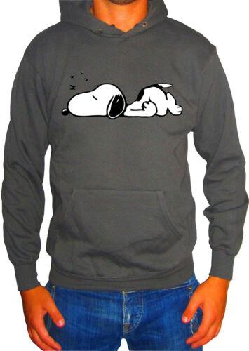 Fm10 Kapuzenpulli Herren Snoopy 3 Peanuts Woodstock Cartoon /& Comic