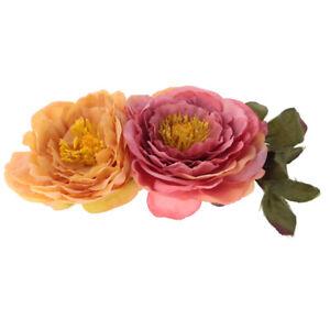 Il cappello di cerimonia nuziale floreale di seta del fiore della Rosa del