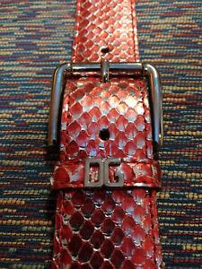 Cintura Pitone In DolceGabbana Cintura Cintura DolceGabbana Originale In Pitone Originale EDH9IW2