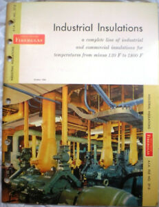 Owens Corning Kaylo Pipe Boiler Insulation Asbestos 1960 Military Specifications Ebay
