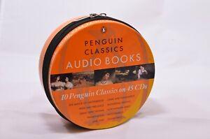 Penguin-Classics-Audio-Books-in-tin-10-classics-on-45-CDs