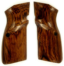 FN Browning Hi-Power Rosewood Grips smooth