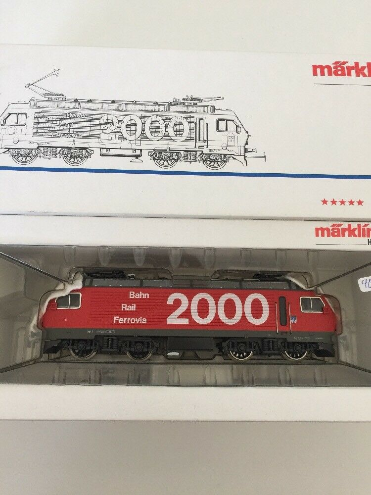 3530 svizzeri e-Lok  2000  re 4/4 SBB OVP __ ho