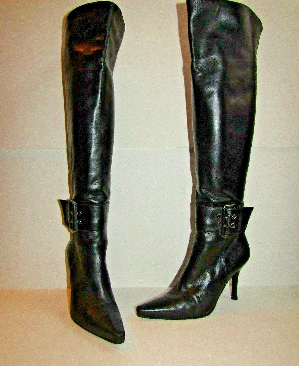 STUART WEITZMAN WEITZMAN WEITZMAN Leather Knee High Boots US 6 3bf780