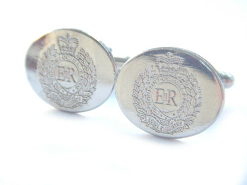 Royal Engineers Regimental Military Cufflinks Engraved
