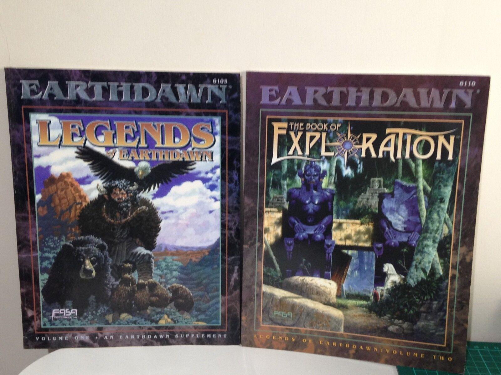 Earthdawn-Legends of earthdawn volumi 1 e 2  6103 &  6110 - NUOVO