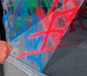 3M™ Films Pour Verre Antigraffiti Film De Couverture Anti-graffiti