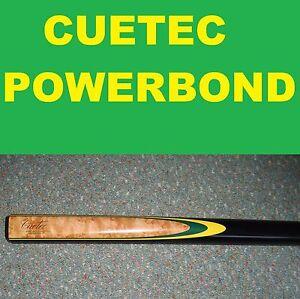 CUETEC-Pool-Snooker-Billiard-Cue-CUETEC-POWERBOND-Green-yellow-RRP-199-2019