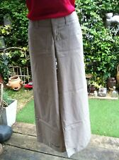 Gap Wide Leg Chino With Turn Up Size 4 Regular