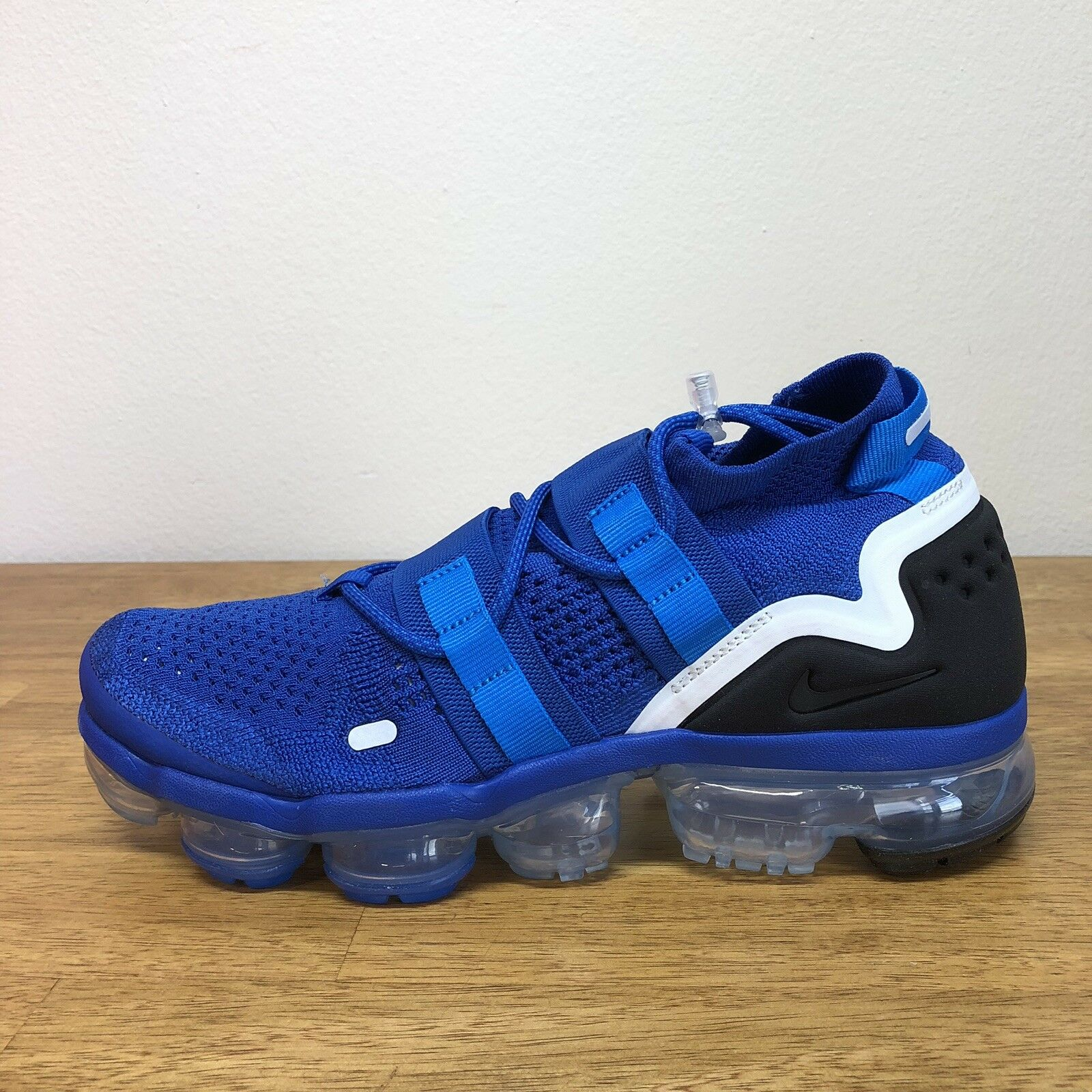 Nike Air VaporMax FK Utility Flyknit Game Royal bluee AH6834-400 Men's Size 8.5