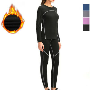 Thermal-Underwear-Set-with-Fleece-Lined-Ultra-Soft-Top-amp-Bottom-Base-Layer-Women