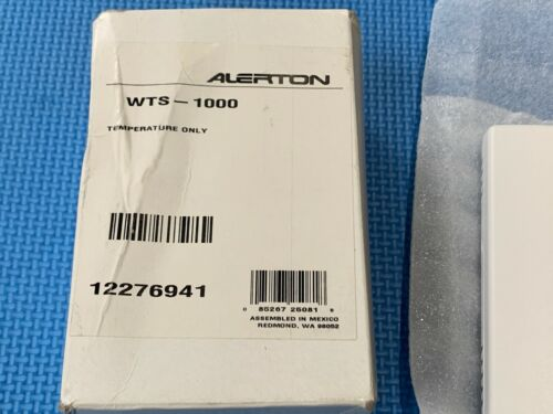 Brand New Lot of 2 Alerton WTS-1000 Temperature Only UPC 085267250818