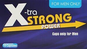 Xtra-Strong-Power-10-Kapseln-I-Praeparat-fuer-Maenner-I-100-Pflanzlich