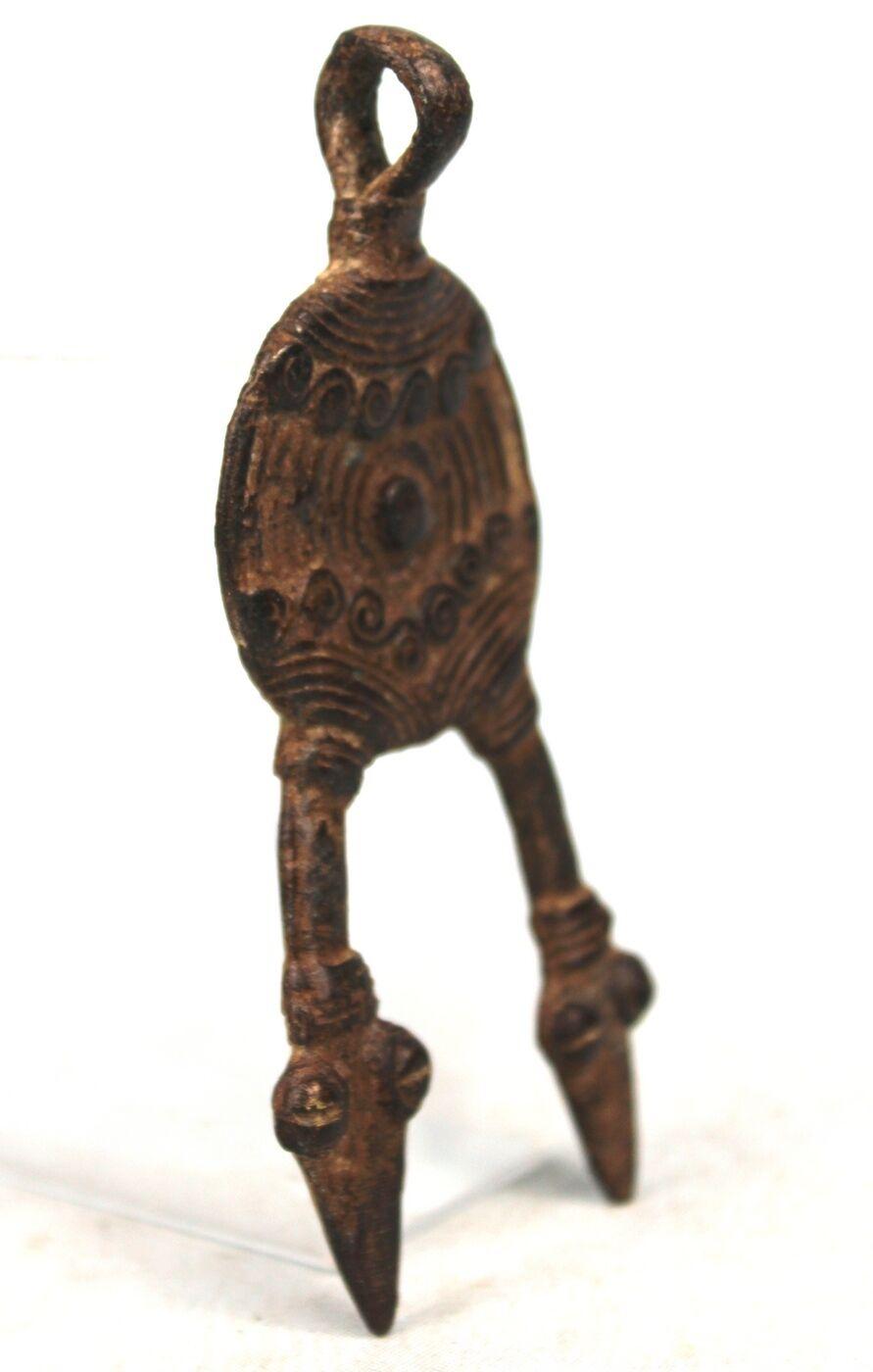 Arte Africana - Rituale Object di il Gan Gan Gan Ciondolo Serpente - Free Shipping b5442e