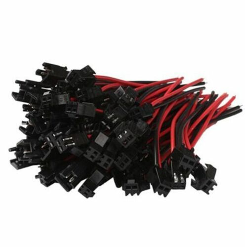 JST 2.5 SM-2 Pin Battery Connector Plug Female /& Male with Wire 20 sets