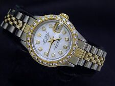 Rolex Datejust 6917 18k Yellow Gold Ladies Watch