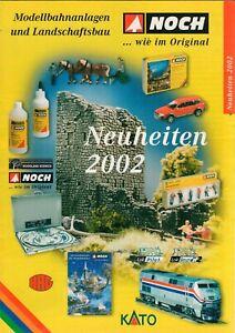 Encore-nouveautés 2002 Prospectus Brochure Modèle Installations Bahn-b17619-afficher Le Titre D'origine Par Processus Scientifique