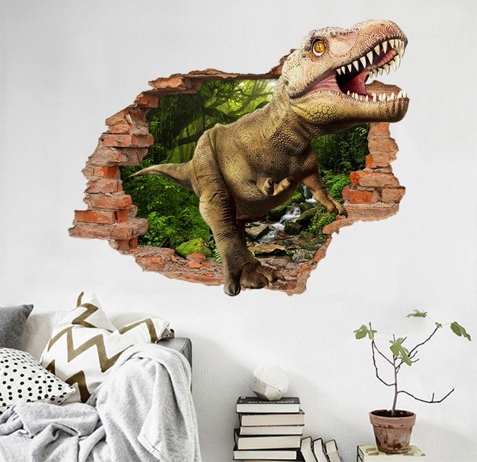 3D Dinosaurier Wald Mauer Murals Mauer Aufklebe Decal Durchbruch AJ WALLPAPER DE