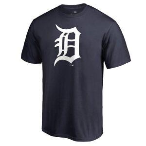 Detroit-Tigers-D-Logo-Short-Sleeve-T-Shirt-MLB-Baseball-Verlander-Locker-Room