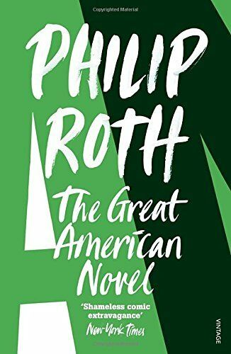 1 of 1 - The Great American Novel by Roth, Philip 0099889404 The Cheap Fast Free Post