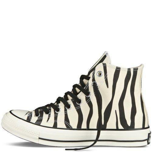 Converse Converse Converse Heavy Thick Canvas Pale Khaki & Black ZEBRA HI-TOP shoes NEW DISC WMS bd087b
