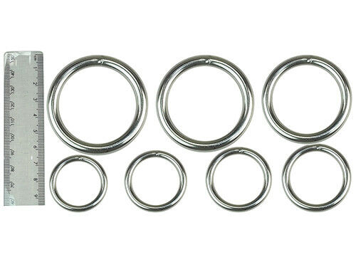 "STEEL RINGS 2/""//51MM 1-3//4/""//44MM 1-1//2/""//38MM 1-3//8/""//35MM 1-1//4/""//32MM 1-1//8/""//29MM"