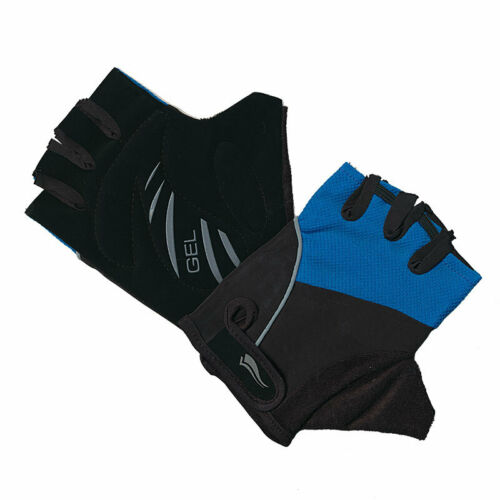 Lycra Gel Cycle Mitts Cycing Mitts Unisex Blue//Black