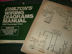 1985 Chevrolet Caprice Impala Wiring Diagrams Schematics Manual Sheets Set Ebay
