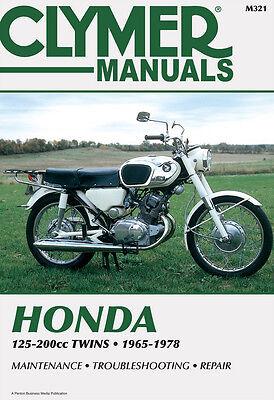 SL175 /& CB200 Twins Clymer Manual #M321 for Honda CB160 CB175