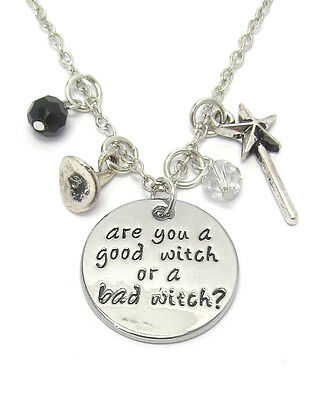Wizard Of Oz ARE YOU A GOOD WITCH OR A BAD WITCH ENGRAVED