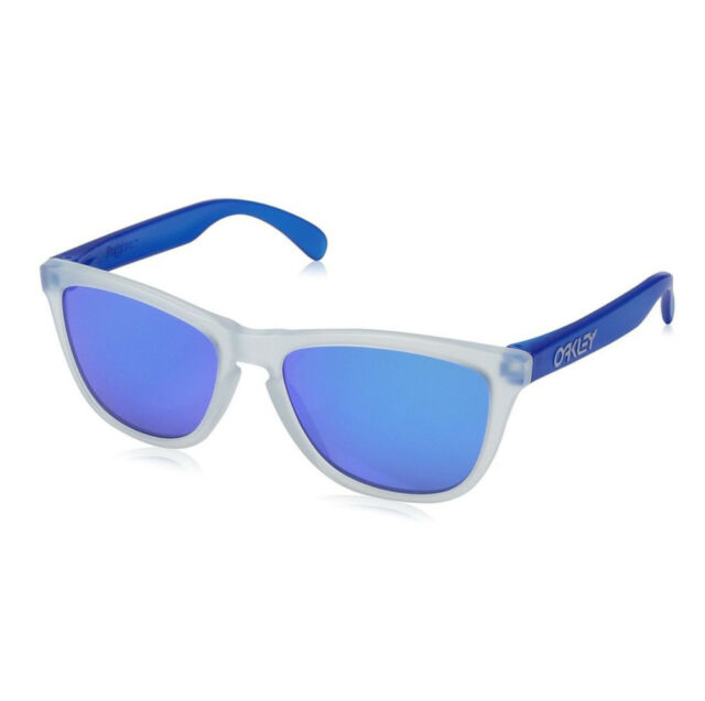 d7e222a4ddd Oakley Sunglasses Frogskins Asian Fit Matte CLR Sapphire Oo9245-5154 ...