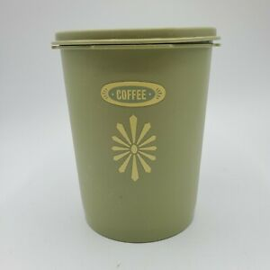 Tupperware-Canister-Vintage-SAGE-Green-811-and-Lid